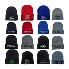 d881d35c699 Embroidered beanie